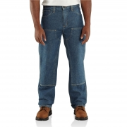 Flame-Resistant Utility Denim Double-Front Jean Relaxed Fit