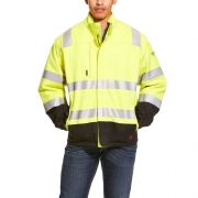 FR Hi-Vis Waterproof Jacket