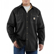 Men's Flame-Resistant Canvas Shirt Jacket