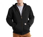 Rutland Thermal Lined Hooded Zip Front Sweatshirt
