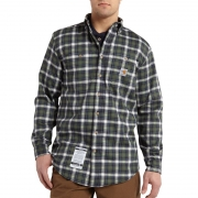 Flame-Resistant Classic Plaid Shirt