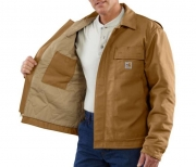 Men's Flame-Resistant Lanyard Access Jacket/ Quilt Lined