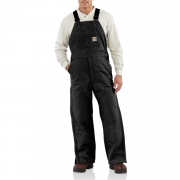 Men's Flame-Resistant Duck Bib Overall/ Quilt Lined