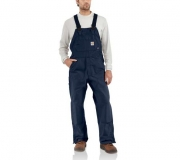 Men's Flame-Resistant Duck Bib Overall/ Unlined