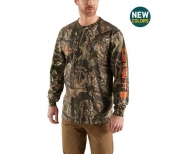 Men's Workwear Graphic Camo Long-Sleeve T-Shirt