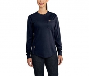 WOMEN'S FR FORCE COTTON LONG-SLEEVE CREWNECK T-SHIRT