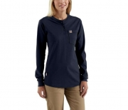 Women's, Slightly Fitted, FR Cotton, Long-Sleeve Shirt