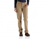 WOMEN'S FR ORIGINAL-FIT RUGGED FLEX®CANVAS PANT