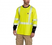 FR HIGH-VIS FORCE LONG SLEEVE T-SHIRT CLASS 3