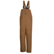 Brown Duck Deluxe Insulated Bib Overall - EXCEL FR ComforTouch