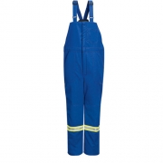 Deluxe Insulated Bib Overall with Reflective Trim - Nomex IIIA