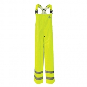 Hi-Visibility Flame-Resistant Rain Bib Overall