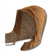 Flame-Resistant Duck Hood / Quilt-Lined