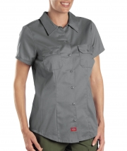 Women's Short Sleeve Work Shirt