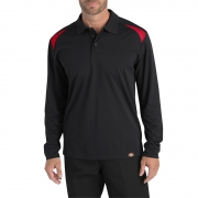 Performance Long Sleeve Shop Polo
