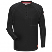 iQ Series Long Sleeve Henley