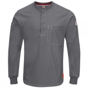 iQ Series Plus Long Sleeve Henley