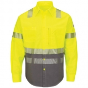 Hi-Visibility Color Block Uniform Shirt ComforTouch