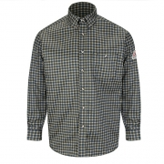 Plaid Dress Shirt - EXCEL FR ComforTouch