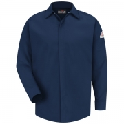 Concealed-Gripper Pocketless Work Shirt -EXCEL FR® ComforTouch
