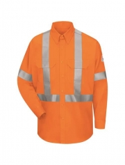 Work Shirt With CSA Compliant Reflective Trim - EXCEL FR ComforT
