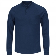 Long Sleeve Henley Shirt- CoolTouch 2