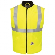 Hi Vis Insulated Vest with Reflective Trim - CoolTouch