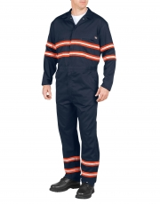 Enhanced Visibility Long Sleeve Coverall