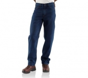 Flame-Resistant Relaxed-Fit Jean - Straight Leg