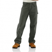 Flame-Resistant Loose-Fit Midweight Canvas Jean