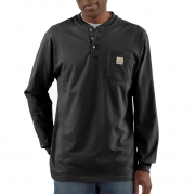 Long-Sleeve Workwear Henley