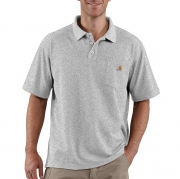 Contractor's Work Pocket™ Blended-Pique Polo Shirt