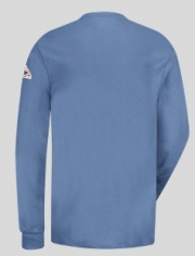 Long Sleeve Tagless Henley Shirt - EXCEL FR
